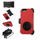 Rugged Outer Box Case Cover with Belt Clip Holster Stand for iPhone 5s 5 5G
