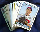 2016 Topps Heritage Cleveland Indians Baseball Card Your Choice - You Pick