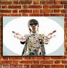 IAN BROWN STONE ROSES MUSIC CANVAS WALL POP ART PRINT PICTURE SMALL MEDIUM LARGE