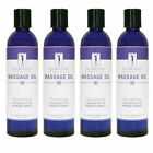 Master Massage SpaMaster Essentials Aromatherapy Massage Oil 8oz - Pack of 4