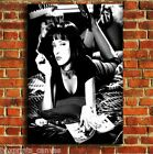 PULP FICTION MIA MOVIE FILM CANVAS PRINT WALL POP ART PICTURE SMALL MEDIUM LARGE