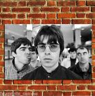 OASIS BRIT POP MUSIC LEGENDS POSTER ART WALL PRINT PICTURE LARGE A4 A3 A2