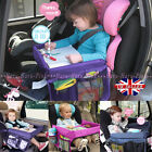 Safety Baby Kids Waterproof Snack Car Seat Table Drawing Board Play Travel Tray