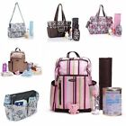 Baby Pad Diaper Nappy Changing Mother Mummy Backpack Shoulder Bag Handbag (UK)