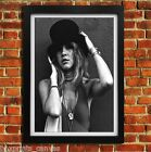STEVIE NICKS FLEETWOOD MAC MUSIC POSTER FRAMED WALL ART PRINT PICTURE S M LARGE