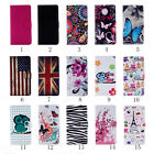 Card Slot Holder PU Leather Flip Wallet Case Cover For Sumsung Galaxy J3 J300