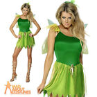 Woodland Fairy Costume Sexy Adult Tinker Forest Nymph Ladies Womens Fancy Dress