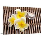 Premium Thick-Wrap Canvas Wall Art entitled Plumeria flow...