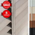 WOODEN VENETIAN BLINDS WITH TAPES | MADE TO MEASURE | REAL WOOD | 35mm or 50mm