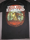 THROUGH THE EYES OF THE DEAD Head T-Shirt *NEW music band concert tour S Sm