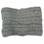 FIRETRAP CHARCOAL CABLE KNIT ADUTLS SNOOD