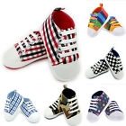 Infant Toddler Baby Boy Girl Soft Sole Crib Shoes Sneaker Newborn to 24 Months