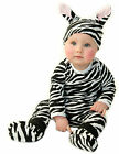 NOO Designs 4 Piece ZEBRA Baby Set with Hat Outfit Costume Dress up 100% cotton