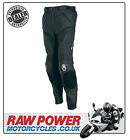 Richa Mugello Leather Motorcycle Motorbike Trousers - Black