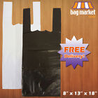 Strong HT Plastic Vest Wine/Bottle Carrier Bags! | 8