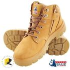 Steel Blue Parkes Zip Safety Toe Cap Work Boots 312158