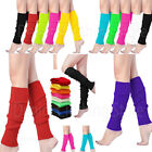 Внешний вид -  Women Crochet Knit Ribbed Leg Warmers Solid Knee High Winter Wool Boot Sock 16""