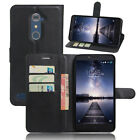Flip Magnetic Card Slot Wallet PU Leather Case Stand Cover Skin For ZTE Zmax Pro