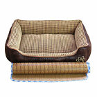 Extra Large Detachable Soft Luxury Dog Bed Mat Puppy Cat Pets Kennel Fur Fleece