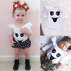 Top Baby Kids Boy Girl Infant Romper Jumpsuit Bodysuit Cotton Clothes Outfit