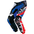 ONEAL ELEMENT SHOCKER PANT 2017 BLUE RACEWEAR MOTOCROSS MX MTB