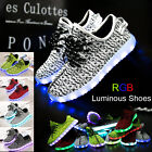 Unisex  LED Light Lace Up Luminous Shoes Sportswear Sneaker Luminous Casual Shoe