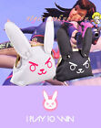 Fashion Female D.Va Rabbit Rectangle Cosplay Canvas Wallet Purse Gift New