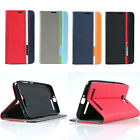 For Many Asus Phone Case Cover PU Leather TPU Wallet Stand Flip Card Slot Skin