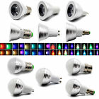 Spot Light 3W RGB Magic LED 16 Color Change Bulb MR16 E14 E27 GU10 B22 GU53 Lamp