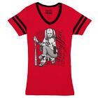 Suicide Squad Harley Quinn Lucky V-Neck Shirt