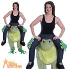Adult Piggyback Frog Costume Unisex Funny Animal Stag Fancy Dress Outfit New