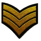 Military style Embroidered Iron On Sew On Patches Badges Transfers Fancy Dress <br/> *** Over 70 Variations *** More than 8,000 Sold ***
