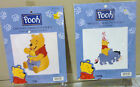 POOH COUNTED CROSS STITCH KIT POOH AND THE HUNNY POT / STACKED POOH NEW SEALED