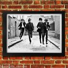 THE BEATLES LENNON MUSIC POSTER FRAMED WALL ART PRINT PICTURE S M LARGE