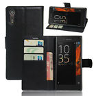 Flip Magnetic Card Slot Wallet PU Leather Case Stand Cover For Sony Xperia XZ