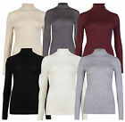 Marks & Spencer Womens Long Sleeve Heatgen™ Thermal Top New M&S Roll Polo Neck