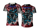 XTREME POWER AMERICAN COUTURE BY TFU MMA UFC GYM TEE PRINT T-SHIRT US/UK FIT