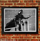 DARTH VADER STAR WARS MOVIE POSTER FRAMED WALL ART PRINT PICTURE S M LARGE