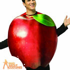 Adult Get Real Apple Costume Food and Drink Funny Fancy Dress Outfit New