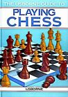Usborne Guide to Playing Chess by S. Caldwell c1987, Paperback, Like New