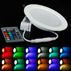 RGB 10W 5W 16 Colors Changing LED Recessed Ceiling Light Bulb Lamp Downlights