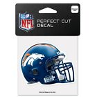 "NFL Assorted Football Teams Helmets Wincraft 4"" x 4"" Color Perfect Cut Decal NEW"