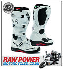 TCX Comp Evo Michelin Motorcycle Motorbike Boots - White