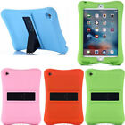 Kids Shockproof Safe Soft Silicone Speaker Cover Stand Case For iPad3 4 Mini Air