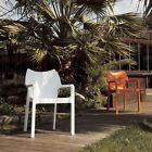 Siesta Diva Resin UV-Resistant and Polypropylene Outdoor Dining Stackable Arm