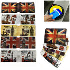 Oyster GB London Icon Travel Card Cover Holder Bus Pass Rail Union Jack Case UK