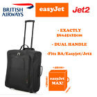 MAX Easyjet British Airways Exactly 56x45x25cm Trolley Hand Luggage Bag 5 Cities