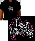 Las Vegas Rhinestone T Shirt or Tank Top  ~ 4 Styles Sizes S M L XL 2XL