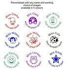 personalised teacher school stamp 46019 reward merit end of term thanks present