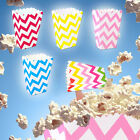 36pcs Stripe Candy Popcorn Favour Loot Paper Box Bags Wedding Birthday Party